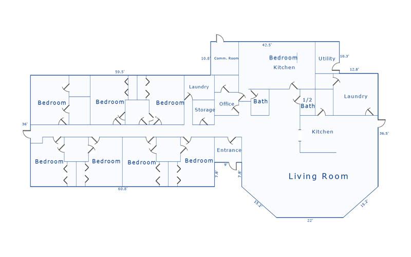 Aurora Facility Floor Plan